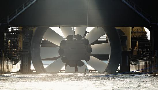 Propeller「Tidal Turbine」:スマホ壁紙(10)