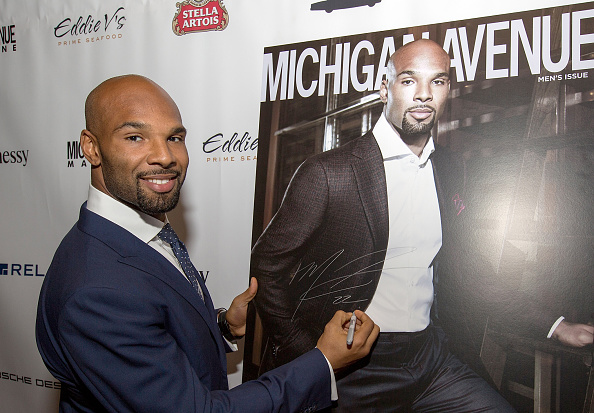 Month「Michigan Avenue Magazine's October Cover Celebration Hosted By Chicago Bears Matt Forte」:写真・画像(9)[壁紙.com]
