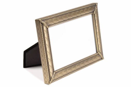 Standing「Isolated Decorative Picture Frame」:スマホ壁紙(14)