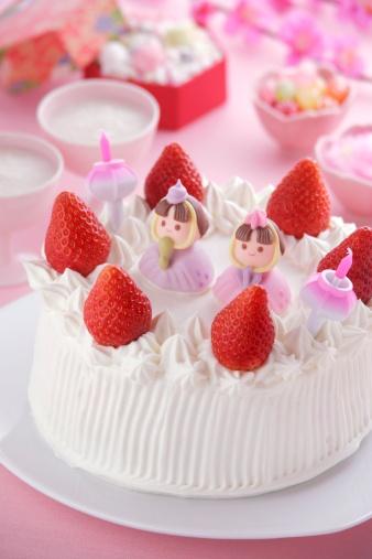 ひな祭り「Cake for hinamatsuri festival」:スマホ壁紙(2)