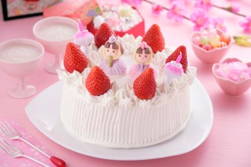 ひな祭り「Cake for hinamatsuri festival」:スマホ壁紙(6)