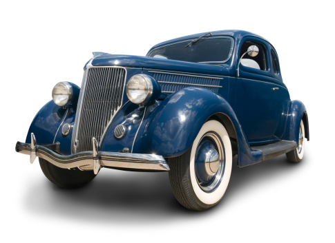 Hot Rod Car「Early Ford Coupe」:スマホ壁紙(1)