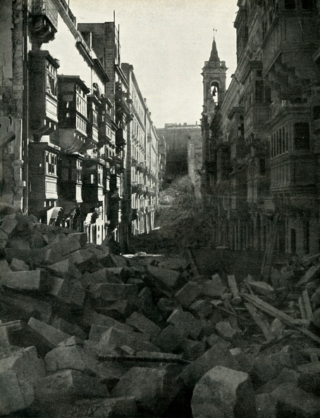 Damaged「Bomb Damage On A Maltese Street」:写真・画像(12)[壁紙.com]