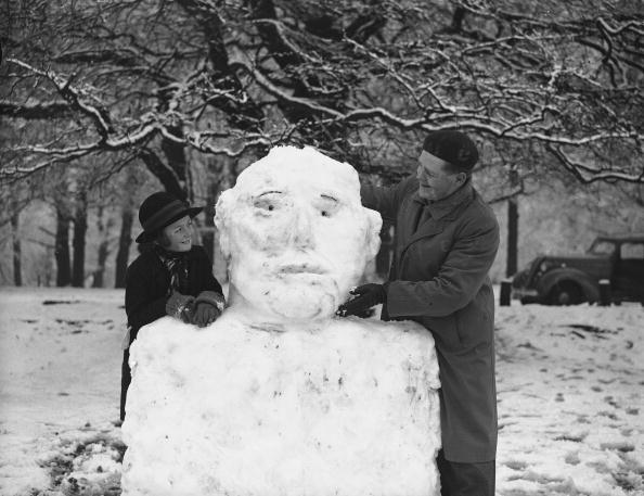 雪だるま「Box Hill Snowman」:写真・画像(5)[壁紙.com]