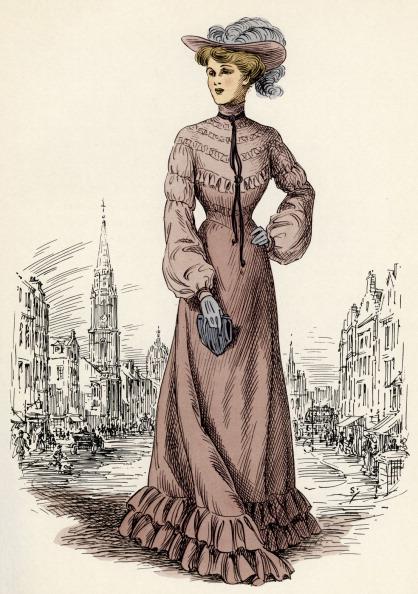 絵「Scottish women 's fashion:  1903」:写真・画像(6)[壁紙.com]