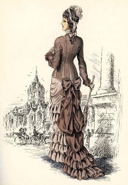 Giles「Scottish women 's fashion: 1881」:写真・画像(3)[壁紙.com]