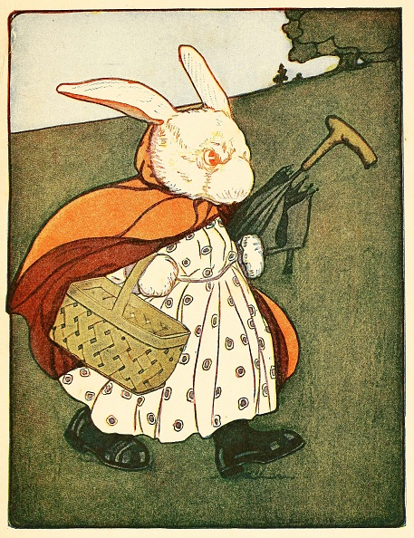 Picture Book「Then Old Mrs Rabbit ?.Went Through The Wood To The Bakers,」:写真・画像(8)[壁紙.com]