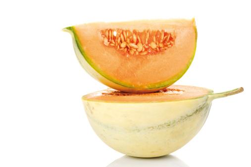 メロン「'Slices of Cavaillon melon, close-up'」:スマホ壁紙(0)