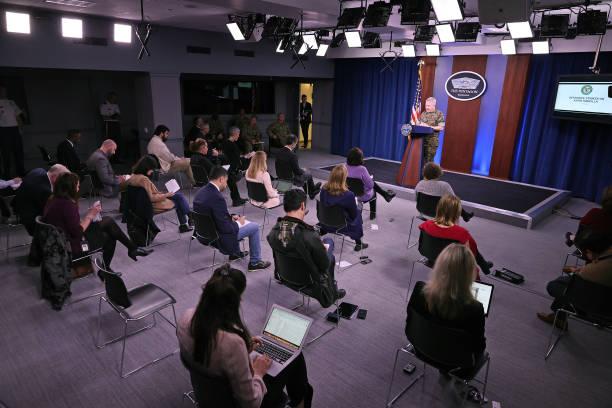 US Central Command Gen. McKenzie Briefs Media On Response To Rocket Attack In Iraq:ニュース(壁紙.com)