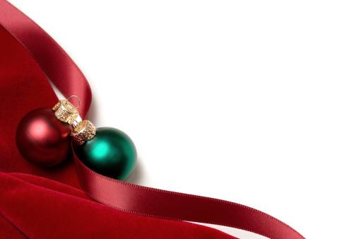 ベロア「レッドベルベットのクリスマスのボーダー」:スマホ壁紙(16)