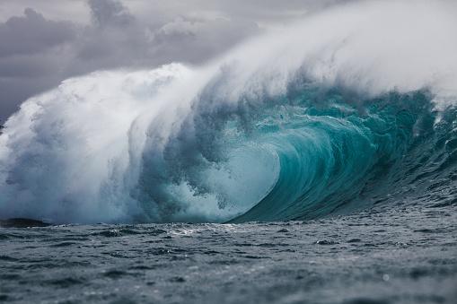 Pacific Islands「Tube wave, Hawaii」:スマホ壁紙(16)