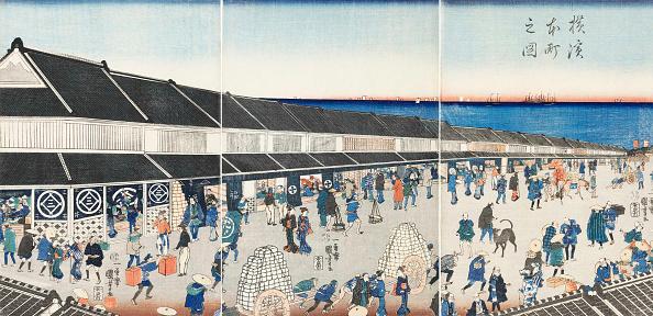 Painted Image「Yokohama Honcho No Zu (Picture Of Honcho In Yokohama)」:写真・画像(14)[壁紙.com]