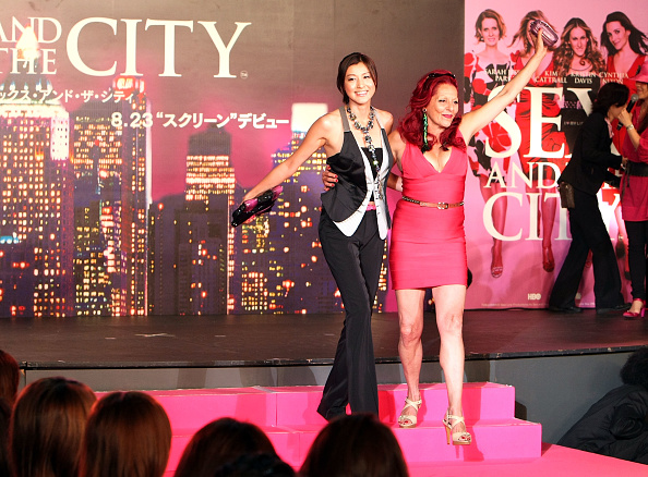 "Eye Make-Up「""Sex And The City"" Japan Premiere」:写真・画像(2)[壁紙.com]"