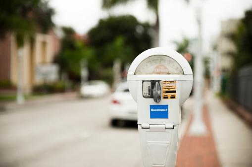 Parking Meter「USA, Florida, Fort Myers, parking meter」:スマホ壁紙(4)