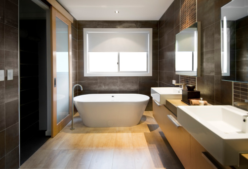 Tile「Luxurious Bathroom」:スマホ壁紙(11)