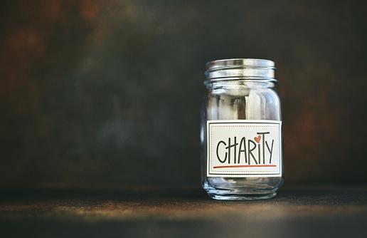 Community Outreach「Empty charity money jar」:スマホ壁紙(19)