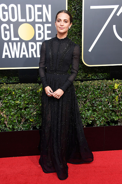 Alicia Vikander「75th Annual Golden Globe Awards - Arrivals」:写真・画像(16)[壁紙.com]