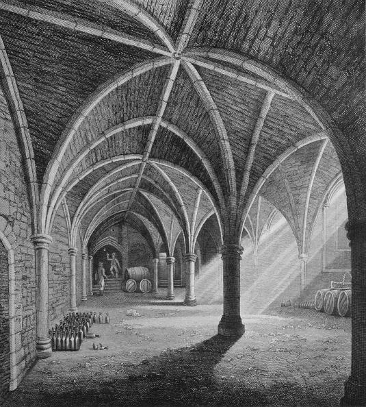 Ceiling「South-west view of Gerrard's Hall, London, c1834 (1906)」:写真・画像(9)[壁紙.com]