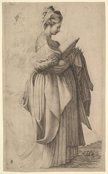 Female Likeness「Female Figure Holding A Cushion」:写真・画像(1)[壁紙.com]