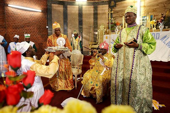Church「Eternal Sacred Order Of The Cherubim And Seraphim Hold Annual Thanksgiving Service」:写真・画像(19)[壁紙.com]