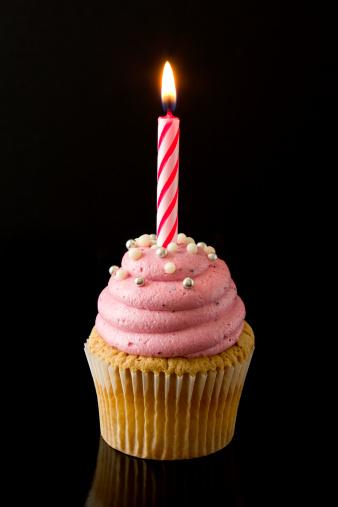 Birthday Candle「Party cupcake」:スマホ壁紙(11)
