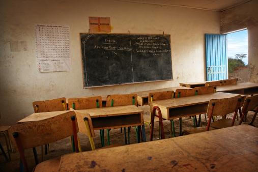 Developing Countries「Classroom in African School」:スマホ壁紙(0)