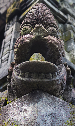 美術工芸「Borobudur Temple Stone Sculpture, Java, Indonesia」:スマホ壁紙(12)