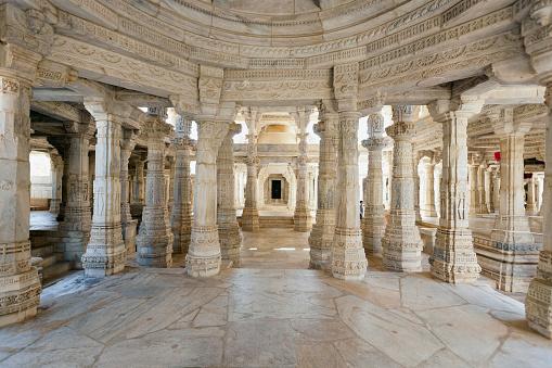 Rajasthan「Ranakpur Jain Temple, Rajasthan, India」:スマホ壁紙(13)