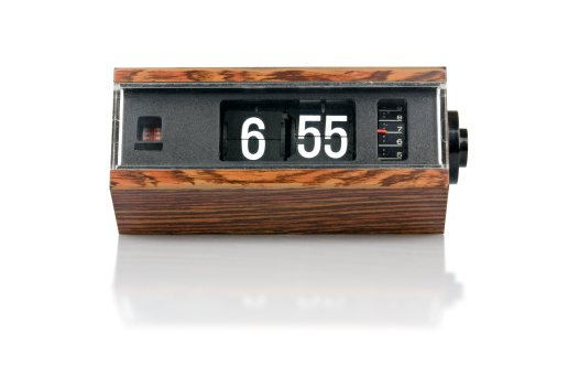 Throwing「The 70s. digital flip clock」:スマホ壁紙(5)
