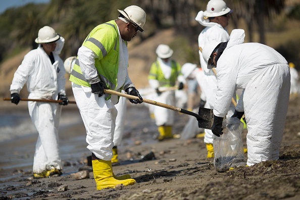 Clean「Ruptured Pipeline Spills Oil Along Santa Barbara Coast」:写真・画像(14)[壁紙.com]