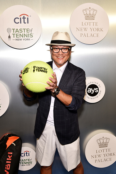 Checked Blazer「Citi Taste Of Tennis - Arrivals」:写真・画像(1)[壁紙.com]