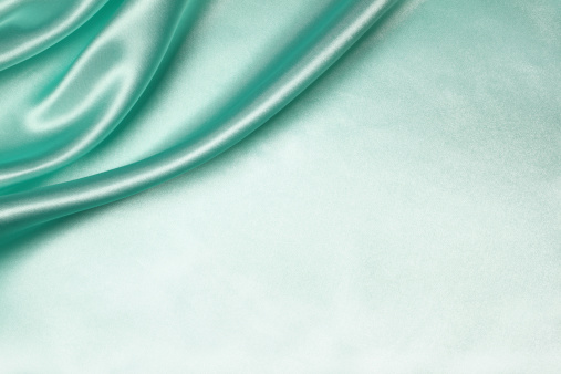 Turquoise Colored「Teal Silk Background」:スマホ壁紙(2)