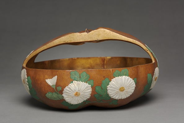 Chrysanthemum「Gourd Basket With Chrysanthemum Design」:写真・画像(9)[壁紙.com]