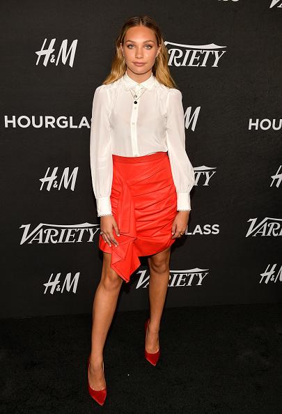 革スカート「Variety's Annual Power Of Young Hollywood - Arrivals」:写真・画像(14)[壁紙.com]