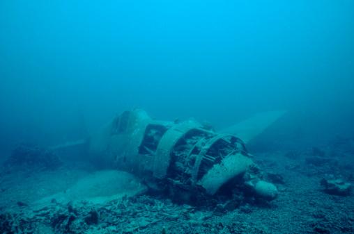Airplane Crash「Japanese Hellcat Wreck, Solomon Islands」:スマホ壁紙(16)