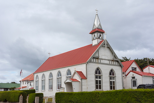 Port Stanley - Falkland Islands「St. Mary Church」:スマホ壁紙(12)