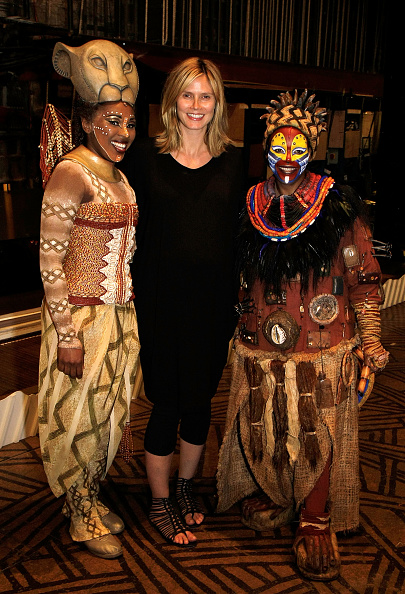 The Lion King「Heidi Klum Visits 'The Lion King' On Broadway」:写真・画像(8)[壁紙.com]