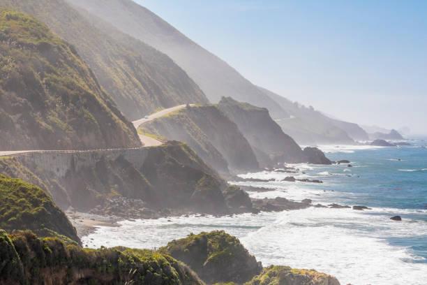 Highway 1 on California coast, Big Sur, California, USA:スマホ壁紙(壁紙.com)