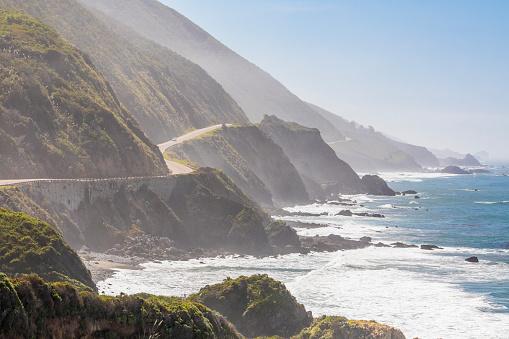 California State Route 1「Highway 1 on California coast, Big Sur, California, USA」:スマホ壁紙(6)