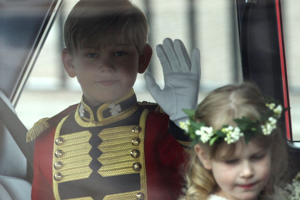 Ring Bearer「Royal Wedding - Wedding Guests And Party Make Their Way To Westminster Abbey」:写真・画像(7)[壁紙.com]