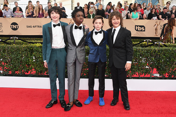 Noah Schnapp「23rd Annual Screen Actors Guild Awards - Arrivals」:写真・画像(0)[壁紙.com]