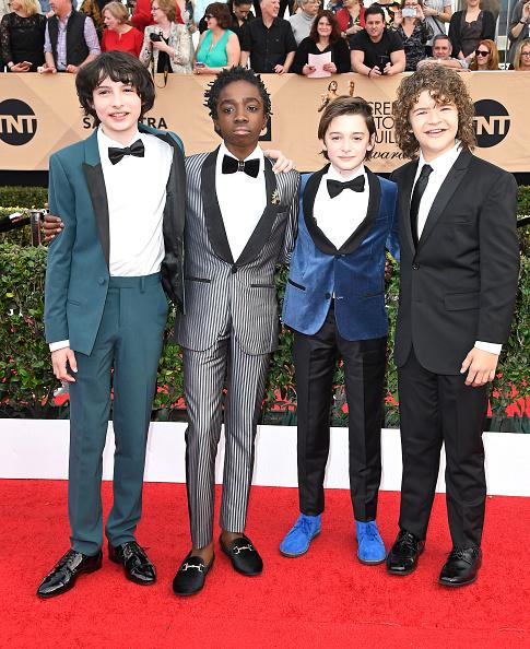 Noah Schnapp「The 23rd Annual Screen Actors Guild Awards - Arrivals」:写真・画像(19)[壁紙.com]