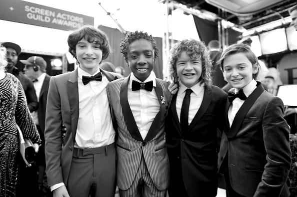 Noah Schnapp「The 23rd Annual Screen Actors Guild Awards - Red Carpet」:写真・画像(7)[壁紙.com]
