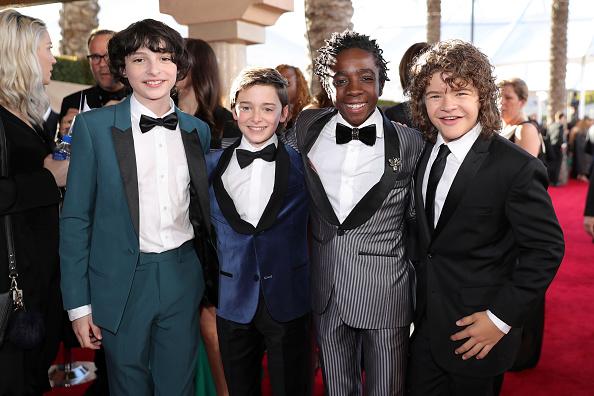 Noah Schnapp「23rd Annual Screen Actors Guild Awards - Red Carpet」:写真・画像(7)[壁紙.com]