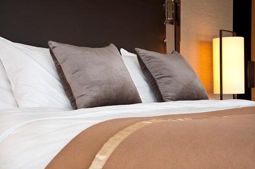 毛布「ホテルのお部屋」:スマホ壁紙(16)