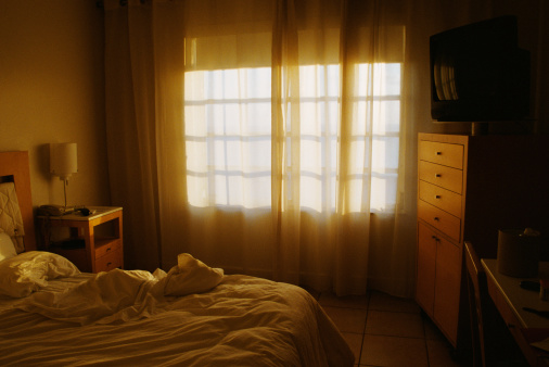 Motel「Hotel room,     Miami,     Florida」:スマホ壁紙(1)