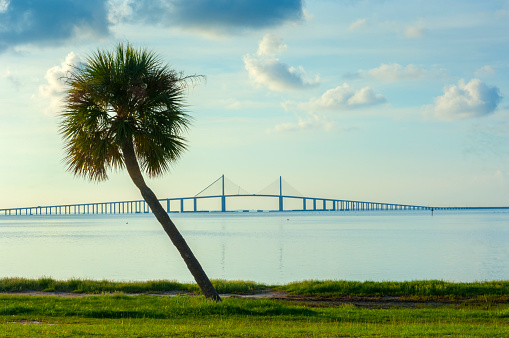 South「Fort De Soto Park, Sunshine Skyway Bridge, Saint Petersburg, Florida」:スマホ壁紙(14)