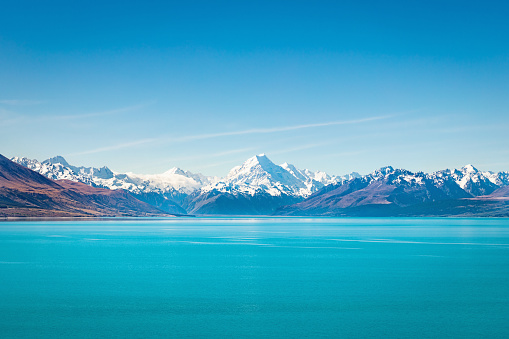 Mt Cook「Tekapo Lake Aoraki Mount Cook New Zealand」:スマホ壁紙(3)