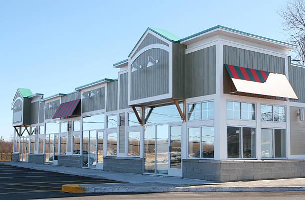 Rustic Store Building Facade:スマホ壁紙(壁紙.com)