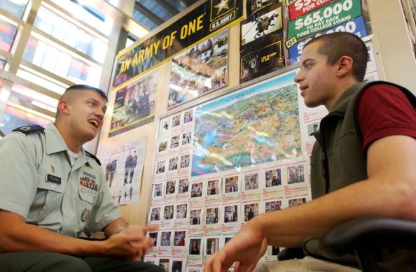 Recruitment「Army Recruiting Figures Up」:写真・画像(14)[壁紙.com]